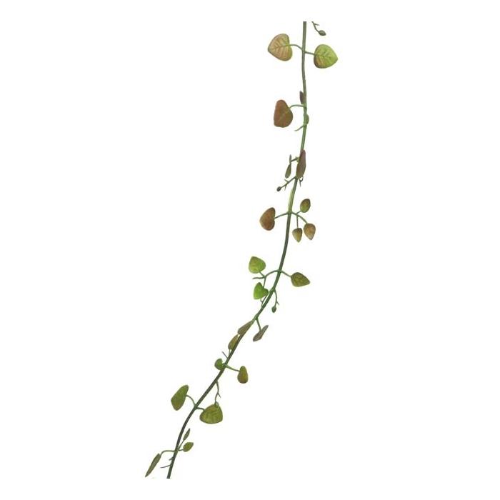 <h4>SILK FLOWERS - FOLIAGE GARLAND RED/GREEN 270CM X1/PB</h4>