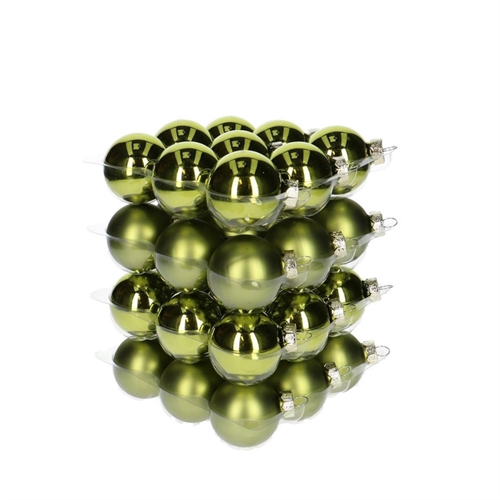 <h4>Christmas bauble Ball 40mm combi x36</h4>