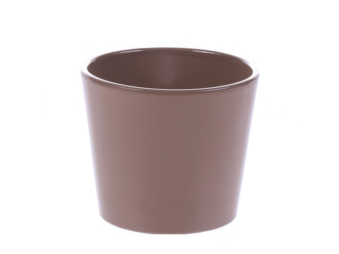 <h4>DF884343400 - Pot Dida d12.5xh9.5 beige</h4>