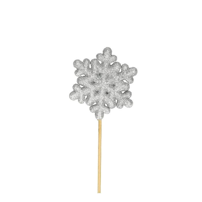 <h4>Christmas sticks 50cm Snowflake 7cm</h4>