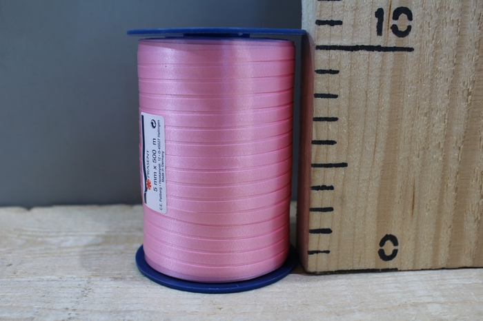 <h4>CURLY RIBBON 5MM X 500M PINK 020</h4>