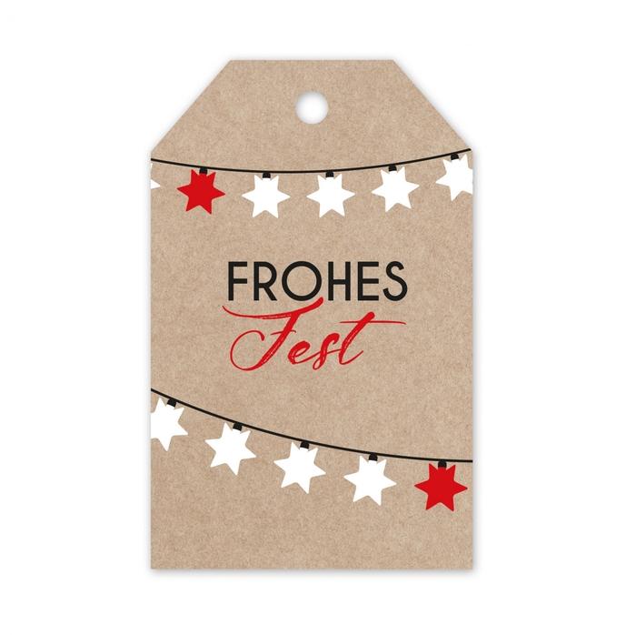 <h4>Kerst Displ.Card D Frohes 5*8cm x20</h4>