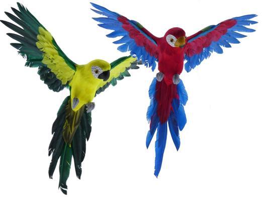 <h4>Fig. Feather Parrot 50cm Mix/2</h4>