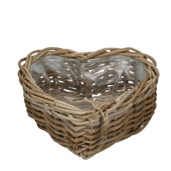 <h4>Baskets Rattan heart tray d30*12cm</h4>