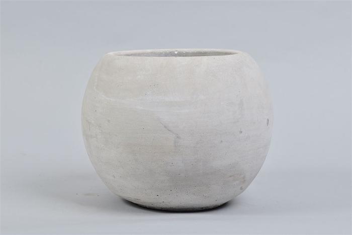 <h4>Beton Pot Bol 20x16cm</h4>