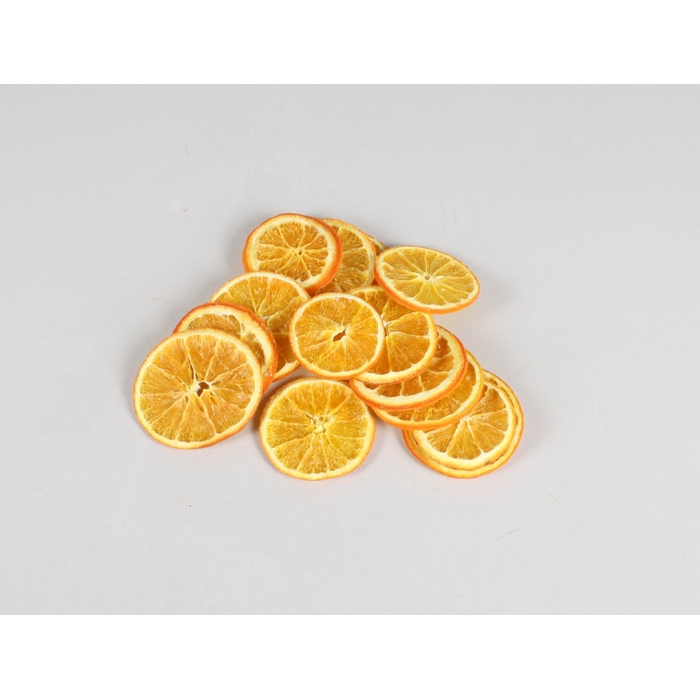 <h4>Orange Slices Natural Orange 250gr in poly</h4>