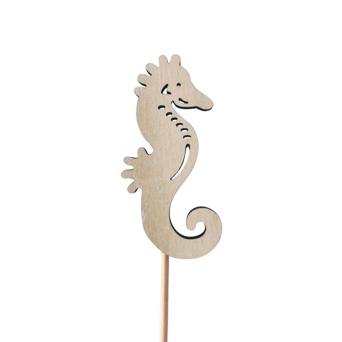 <h4>Bijsteker 50cm Zeepaardje 8cm</h4>