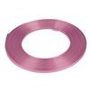 Aluminium wire flat - light pink 5mmx10m