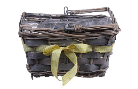 <h4>Basket Rentz 22x15x13 yellow ribbon</h4>