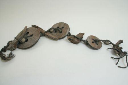<h4>Garl. Button/driftwood L120.0</h4>