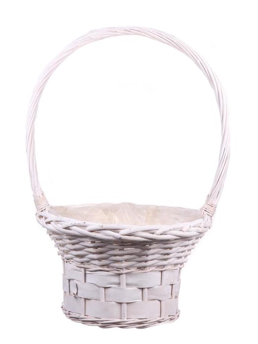 <h4>DF655552600 - H.basket Patrick1 d30xh54 white</h4>