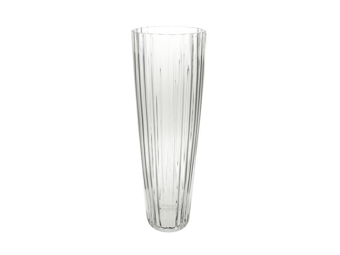 <h4>DF870624406 - Vase glass rib h60cm clear</h4>