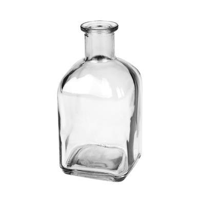 <h4>Vase Bamako verre L6,5xW6,5xH13cm transparent</h4>