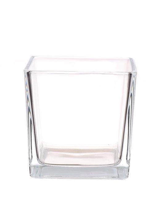 <h4>DF880557400 - Pot square Abbey 12x12x12 clear</h4>