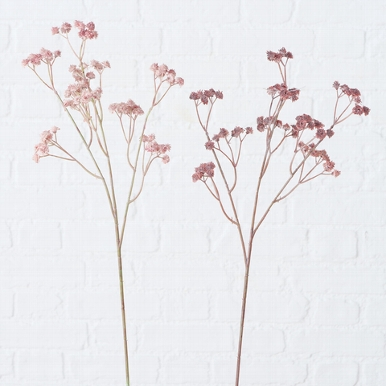 <h4>Zijde, Gipskruid, H 60 cm, 2 ass, Pink, Light rose</h4>