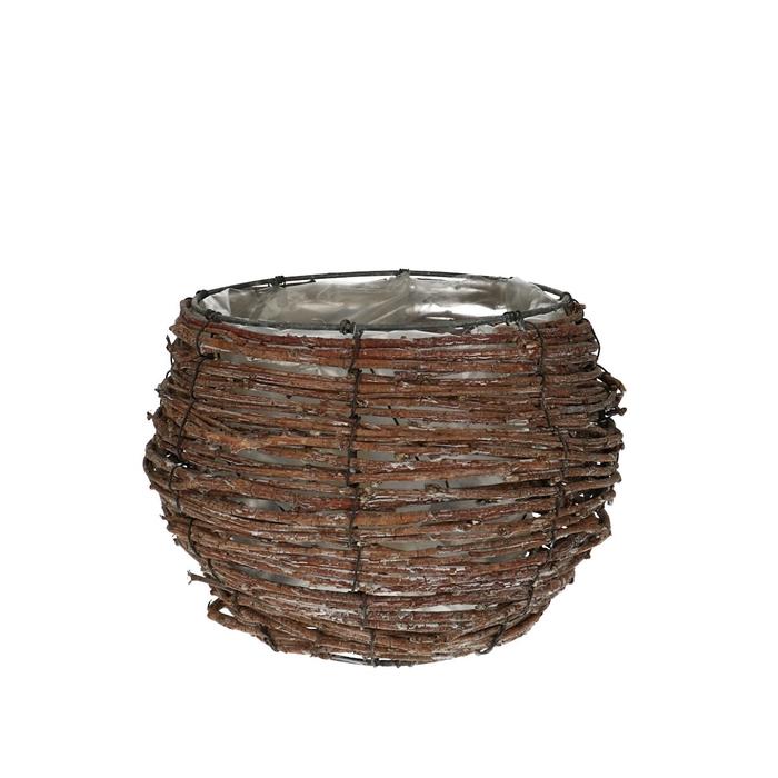<h4>Baskets Rattan pot d20*18cm</h4>
