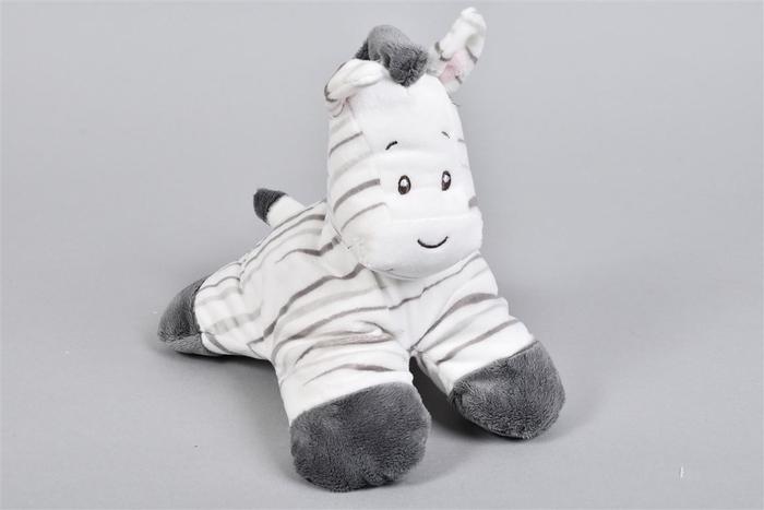 <h4>Zaza-zoo Zebra 3d Knuffel 20cm</h4>