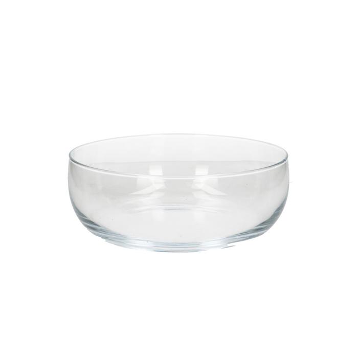 <h4>Glas Schaal rond d23*9cm</h4>