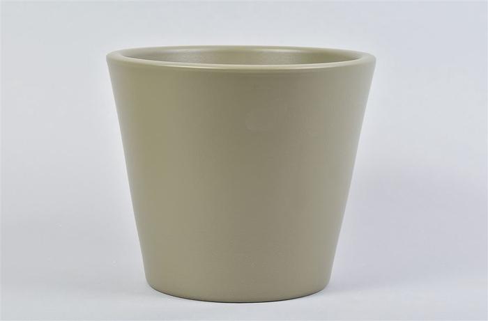 <h4>Vinci Legergroen Pot Container 21x19cm</h4>