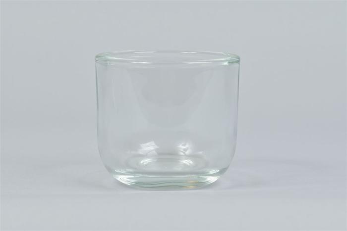 <h4>Glas Pot Zwaar Rond 10x9cm</h4>
