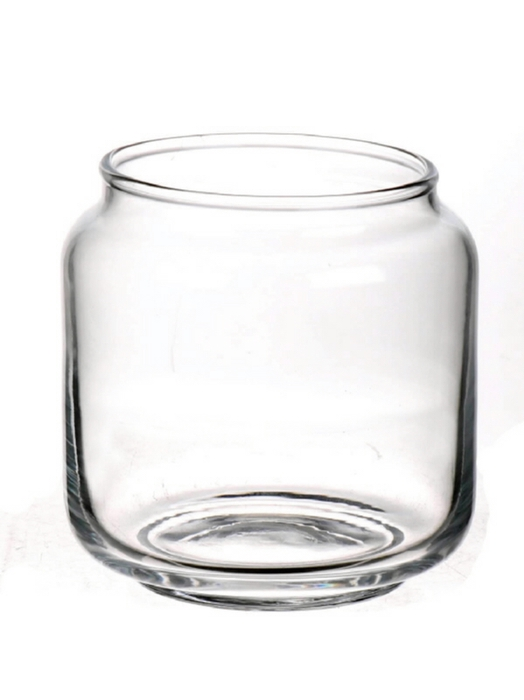 <h4>DF883577800 - Vase Couro d8/10xh10 clear</h4>