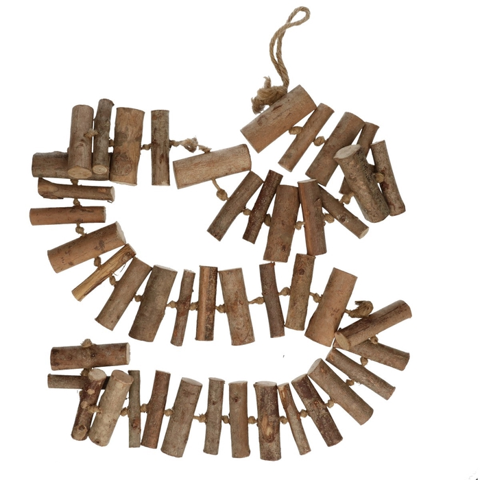 <h4>Dried articles Garland Woodstick 8*180cm</h4>