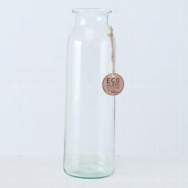 <h4>Vaas Eco-Glas, H 30cm, Transparant</h4>