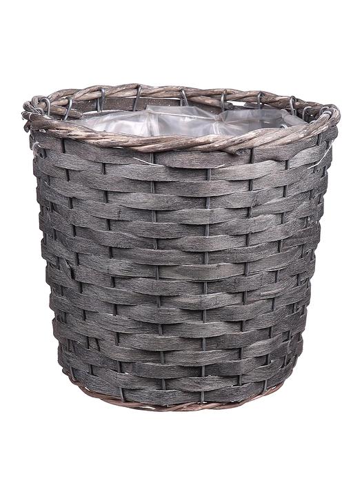 <h4>DF663360375 - Basket Fado d20xh17 grey</h4>