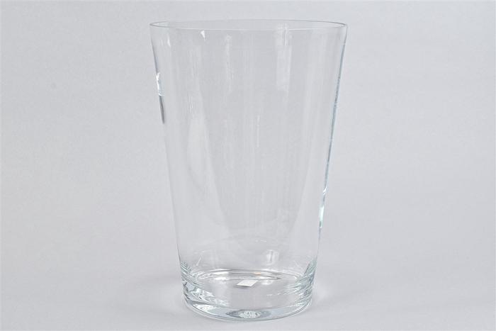 <h4>Glas Vaas Konisch Cc 24x35cm</h4>