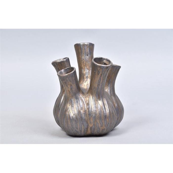 <h4>Aglio Vaas Bronze 13x16cm</h4>
