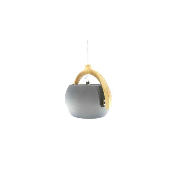 <h4>Lamp Hang 58x47cm Grey/nat</h4>