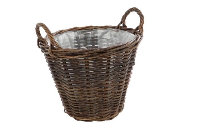 <h4>DF888001400 - Basket Petros d42xh32 brown</h4>