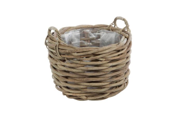 <h4>DF888004400 - Basket 'Provo' d60xh40cm grey</h4>
