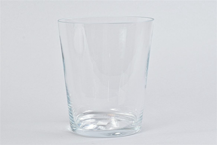 <h4>Glas Vaas Konisch Cc 17x20cm</h4>
