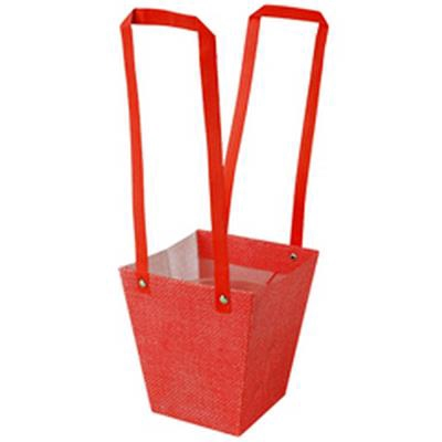 <h4>Sac Fabric PP 13x9,5xH15cm rouge</h4>