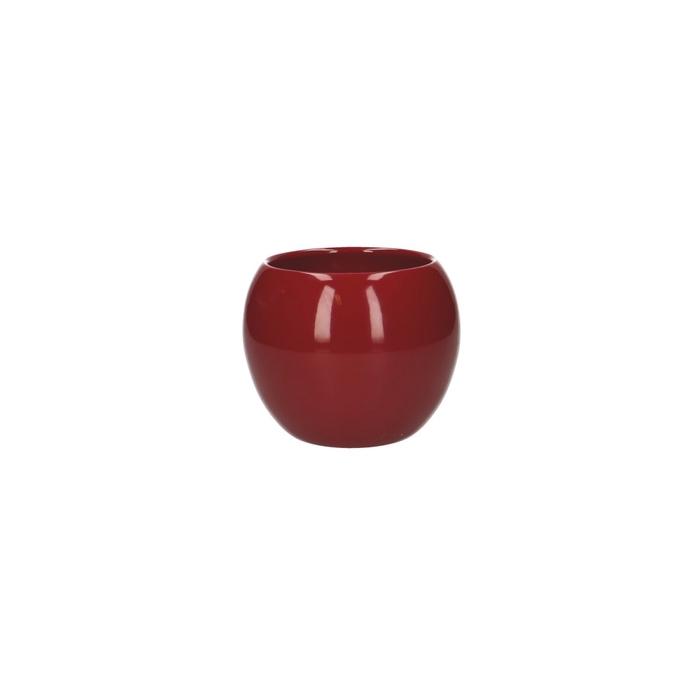 <h4>Ceramics Ball pot d09/12.5*9cm</h4>