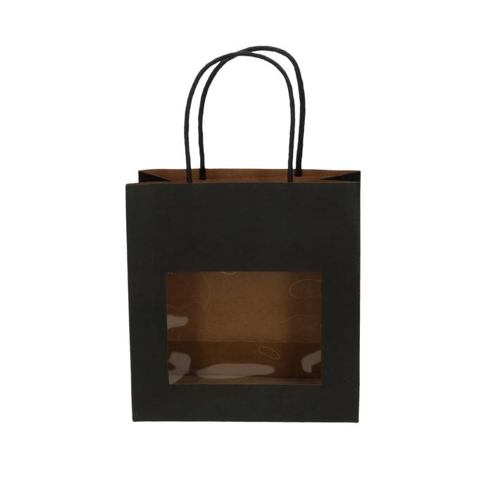 <h4>Tassen Gift bag venster 8/18*19cm</h4>