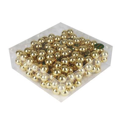 <h4>Boules de nöel en fil 3x20mm éclat or 144 touf</h4>