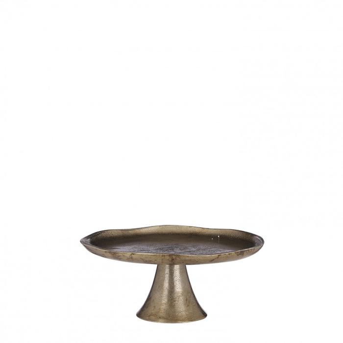 <h4>Homedeco Taartschaal metal d25*10cm</h4>