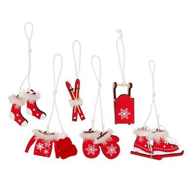 <h4>Kerst Hanger winter 5*4cm ass x6</h4>