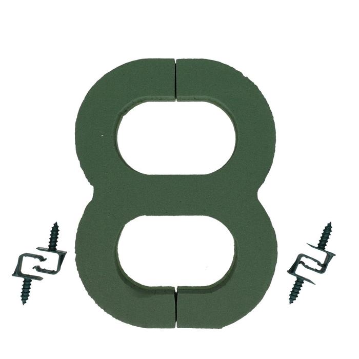 <h4>Foam Basic number 8 27cm</h4>