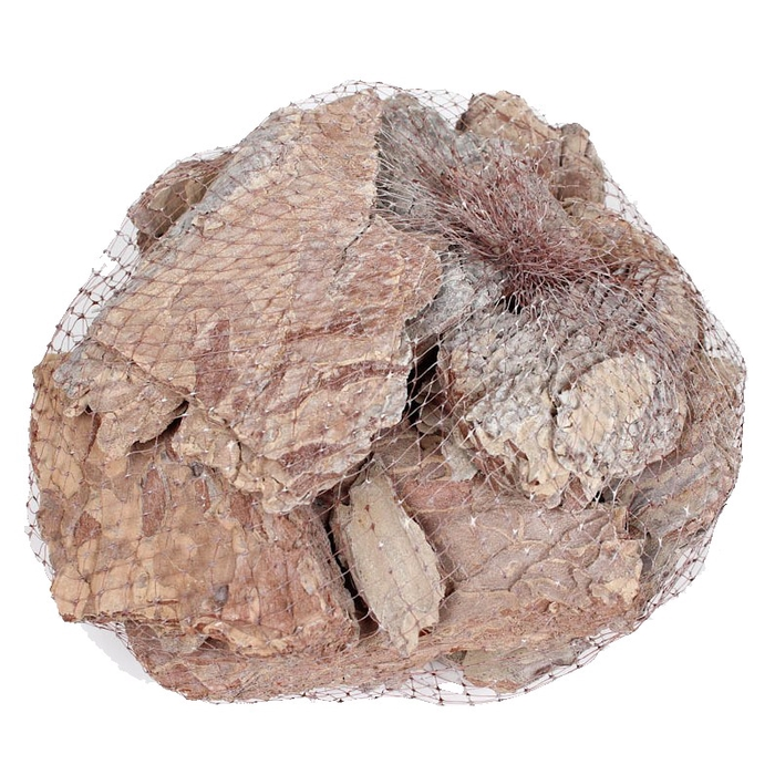 <h4>Maritima bark 500gram in net frosted white </h4>