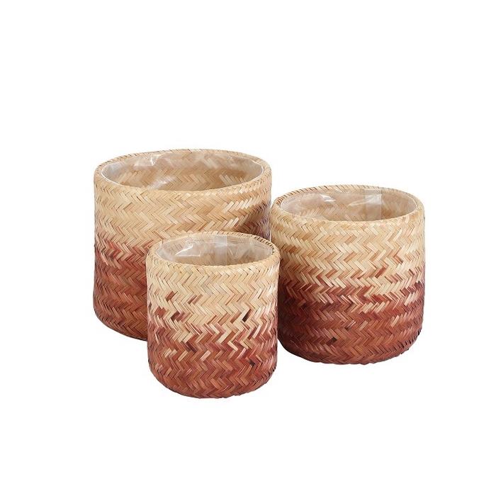 <h4>Baskets Liane pot S/3 d30*26cm</h4>