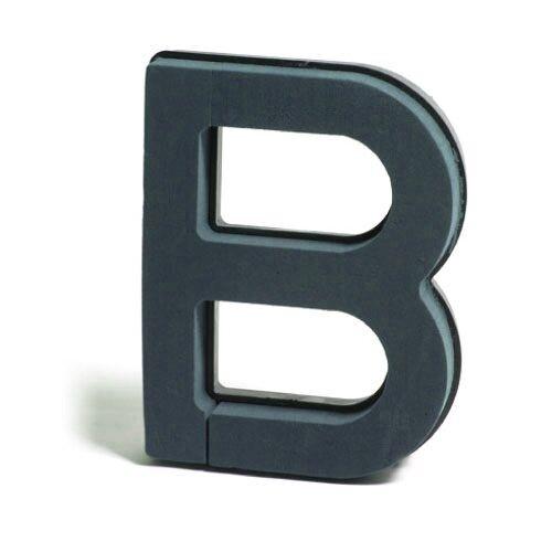 <h4>Steekschuim Basic Letter B 29cm</h4>