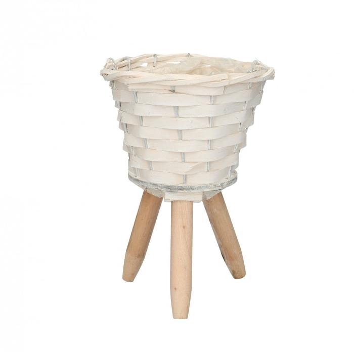 <h4>Manden Pot/voet chip d15*22cm</h4>