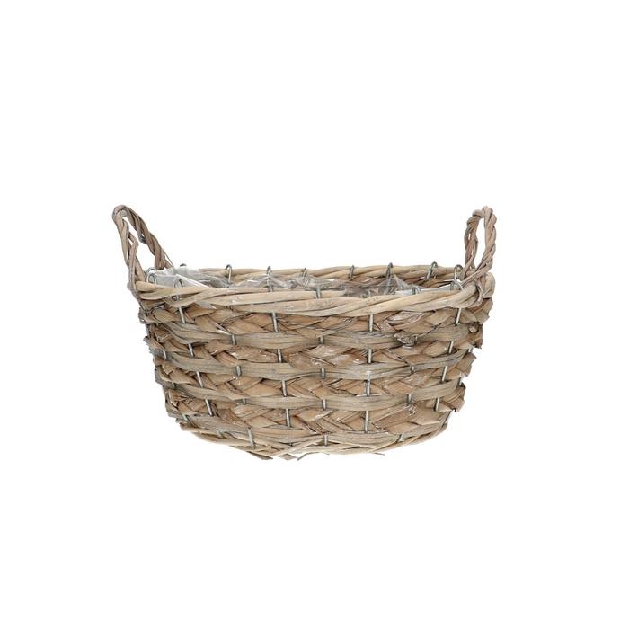 <h4>Baskets Dark oval d25/19*11cm</h4>