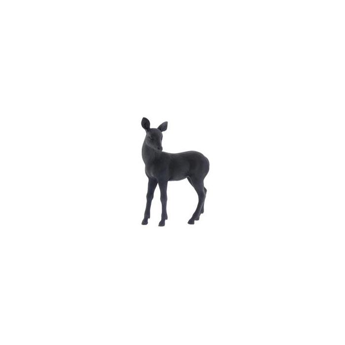 <h4>Fig. Reindeer 13x6x17cm Black</h4>