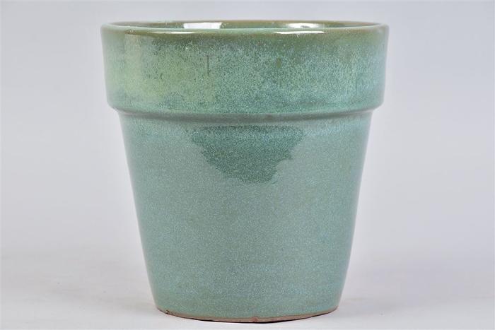 <h4>Ebbi Moss Green Pot Glaze 20x20cm</h4>