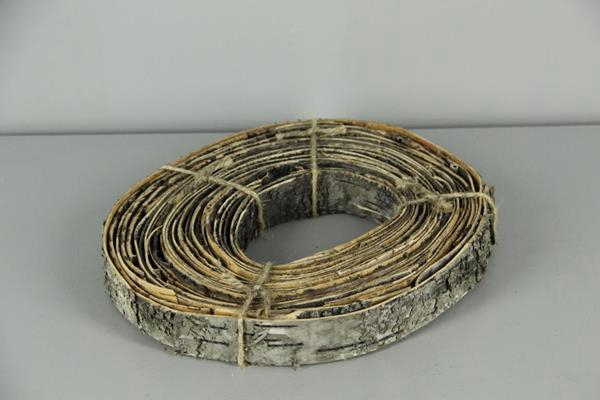 <h4>Birch Bark Roll Natural 28x4cm</h4>