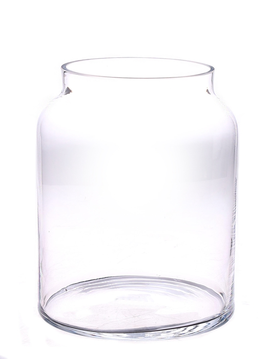 <h4>DF883531500 - Pot Barree d17/23xh28cm clear</h4>